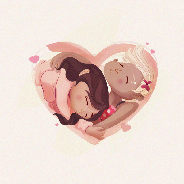 Love is Genderless by Robx Bautista in St. Valentine's Day: Inspiration Showcase