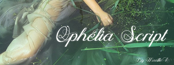 Ophélia Script by Maelle.K in 25 Fresh and Free Fonts for February 2014
