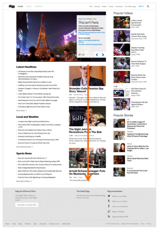 设计师必读!运用视觉表现建立网页的信息层级