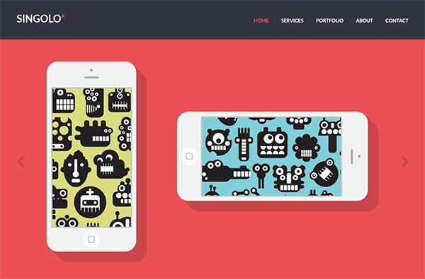 Singolo in 23 Free HTML Templates