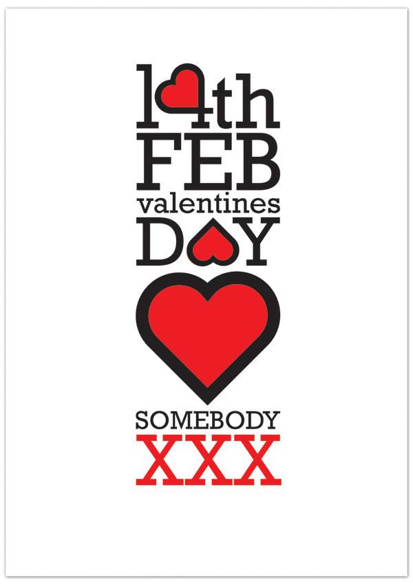 Valentine Poster by Hektor Ruiez in St. Valentine's Day: Inspiration Showcase