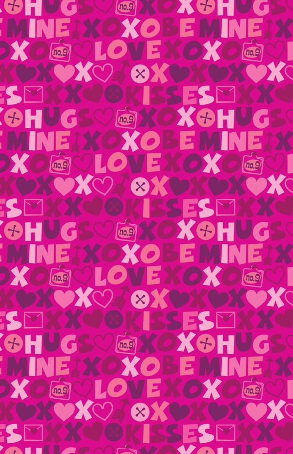 Valentine's Day Pattern Designs by Ed Miller Design in St. Valentine's Day: Inspiration Showcase