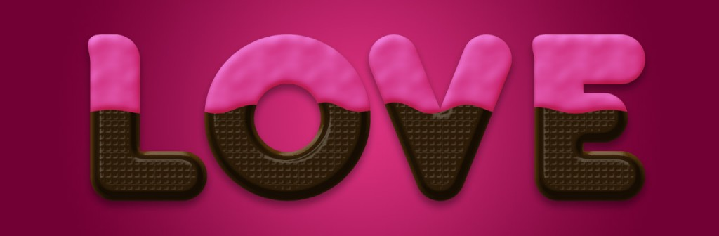 chocolate thin 1024x336 Chocolate Text Effect in Photoshop for Valentines Day