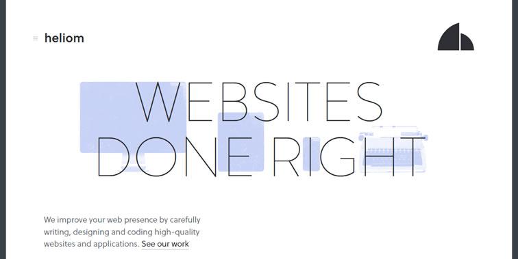 怎样的网站才能打动人心?来看这25个干净美丽的案例吧
