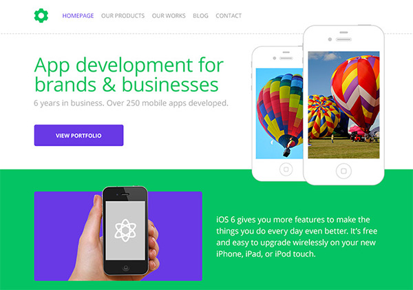 iPholio in 23 Free HTML Templates
