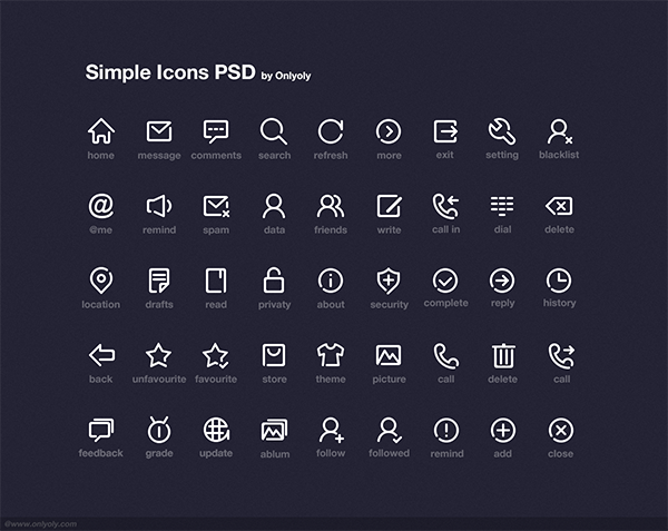 simple-icon-psd-onlyoly
