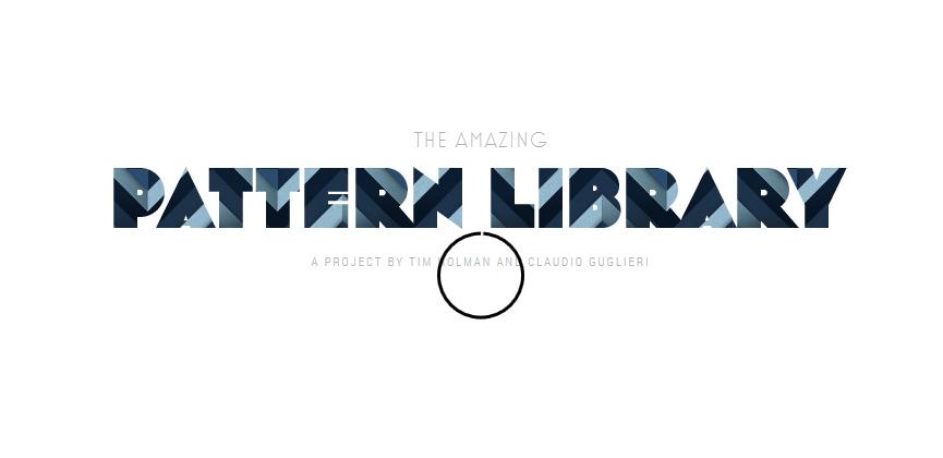 thepatternlibrary-banner
