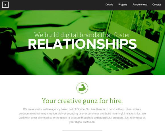 想要网页设计与众不同?来学习下如何利用蓝色和绿色