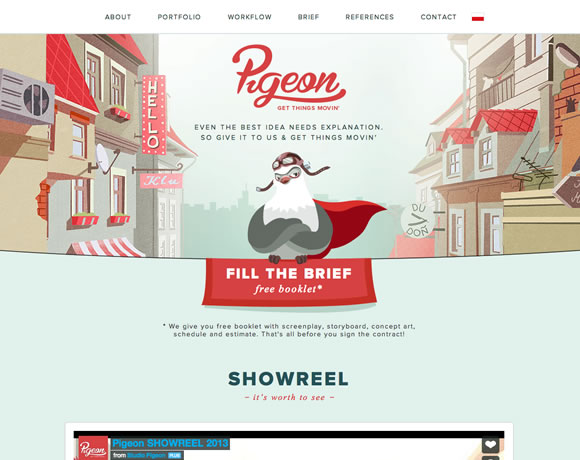 13 Beautiful Examples of Colorful Websites
