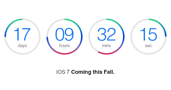 PS教程:创建iOS7风格的倒数计时器
