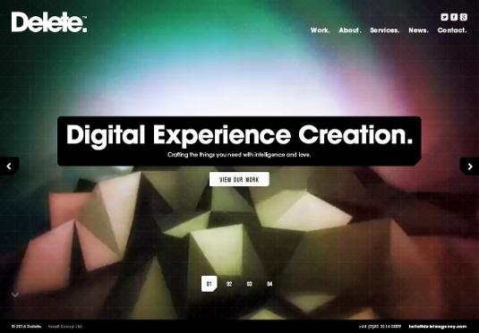超赞的35个顶尖作品集展示网站