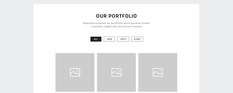 freebies designers web One Page Website Wireframes PSD