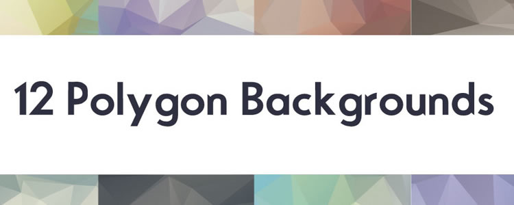 freebies designers web 12 Polygon Backgrounds