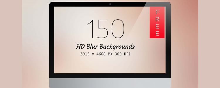 freebies designers web 150 HD Blur Backgrounds
