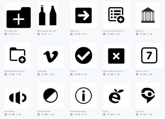 你知道这些icon宝库吗?15个免费下载图标的好去处