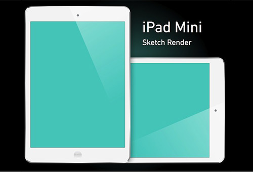 instantShift - Beautiful iPad Mockup PSD Designs