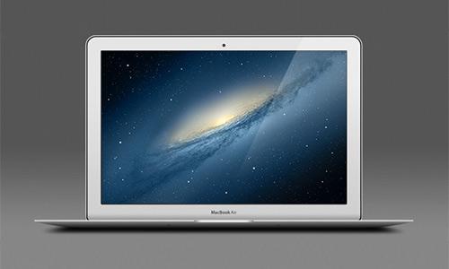 Beautiful Macbook Mockup PSD Designs