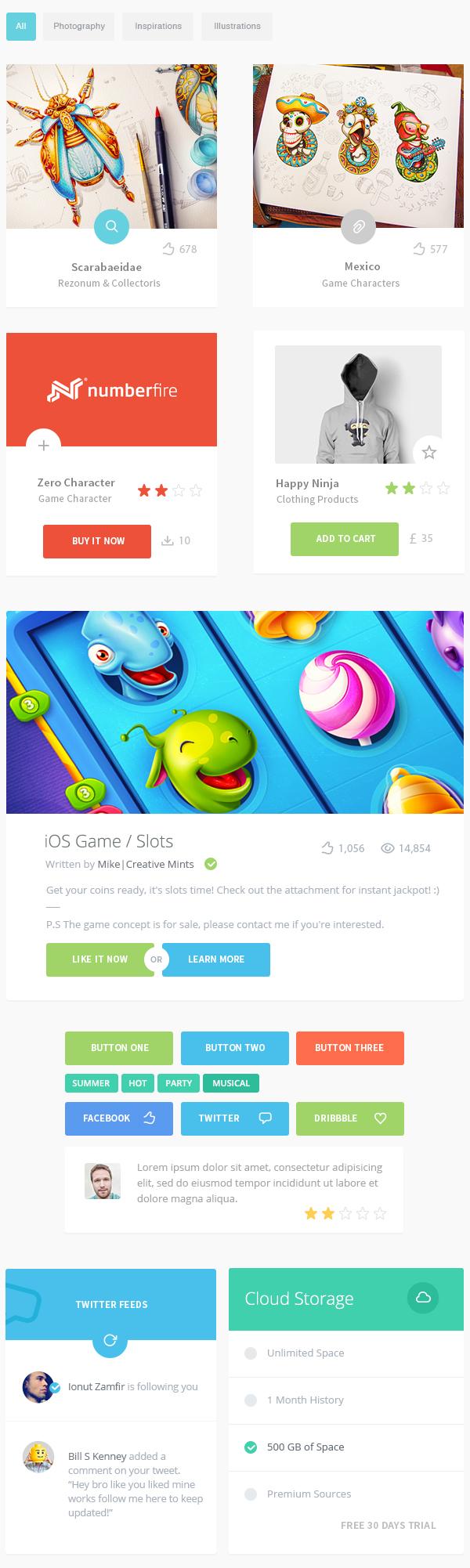 Free Game UI Kit