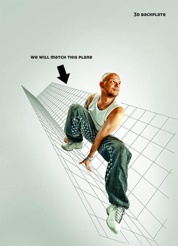 0451 在Photoshop中合成超酷的时尚音乐海报