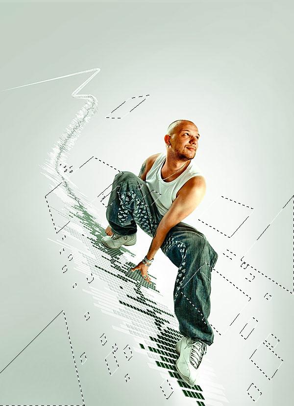 067 在Photoshop中合成超酷的时尚音乐海报