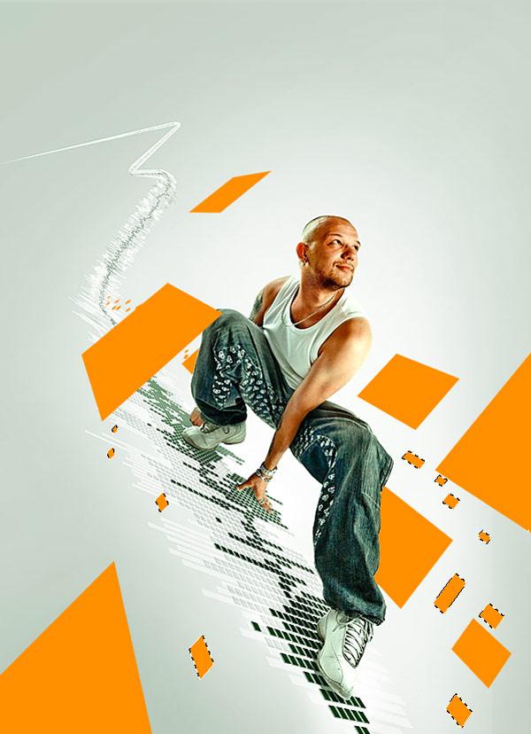 070 在Photoshop中合成超酷的时尚音乐海报