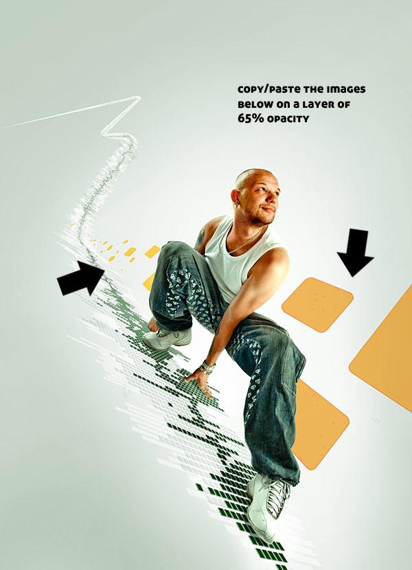 078 在Photoshop中合成超酷的时尚音乐海报