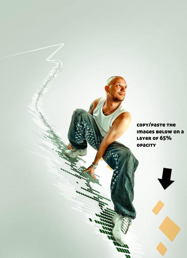 079 在Photoshop中合成超酷的时尚音乐海报