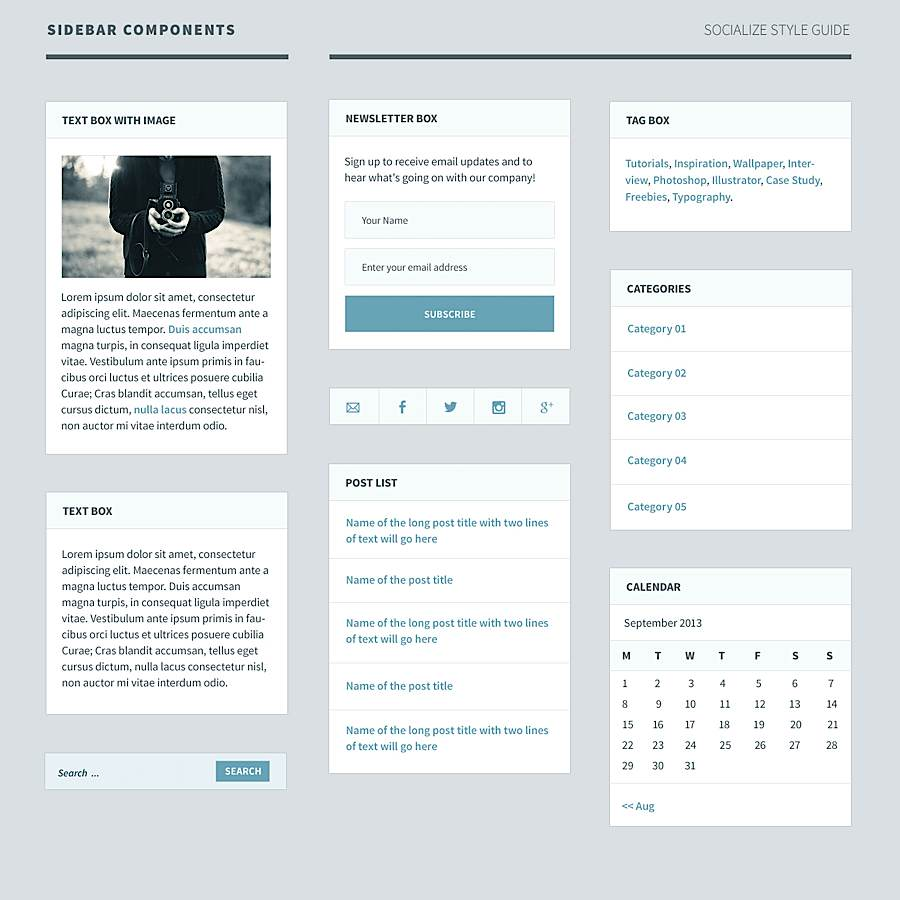 Case Study - WordPress Theme Design