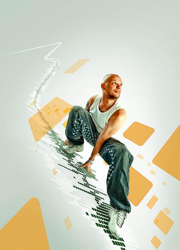 081 在Photoshop中合成超酷的时尚音乐海报