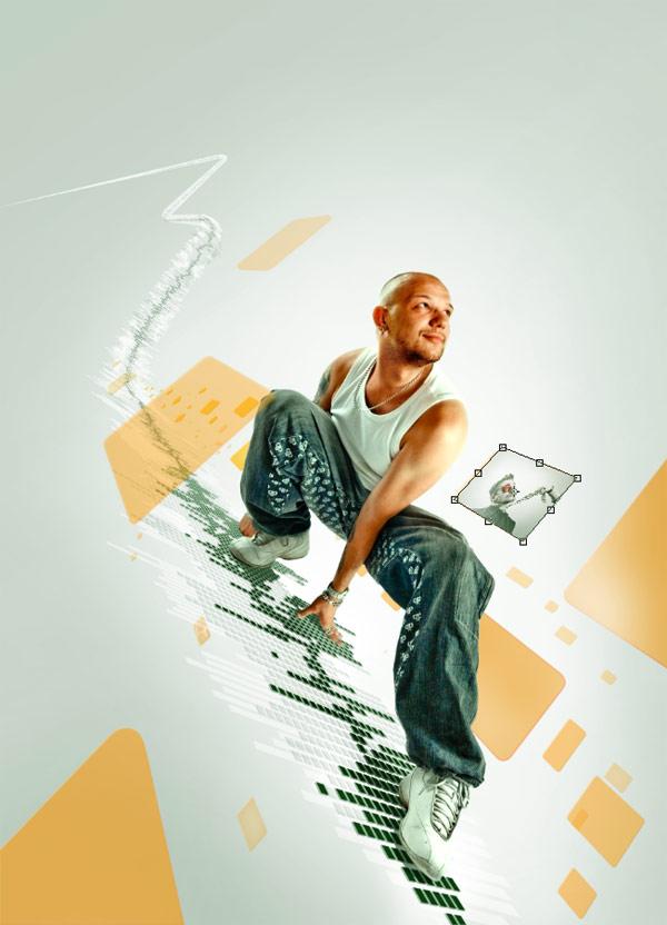 085 在Photoshop中合成超酷的时尚音乐海报