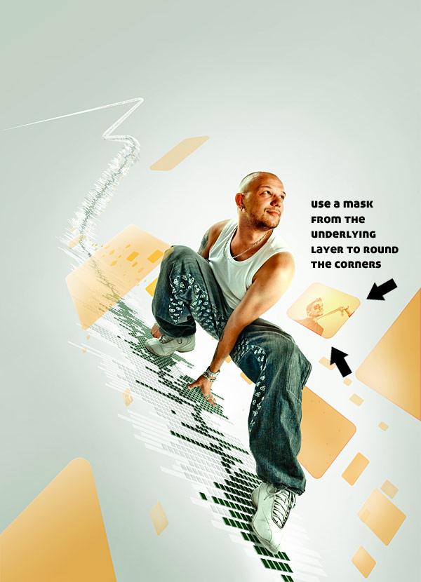086 在Photoshop中合成超酷的时尚音乐海报