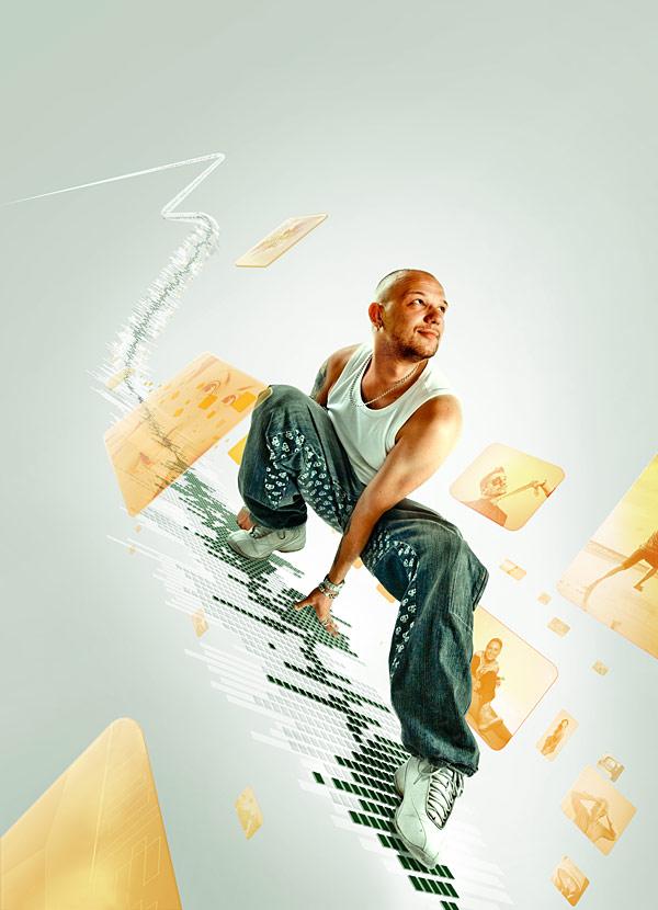 087 在Photoshop中合成超酷的时尚音乐海报