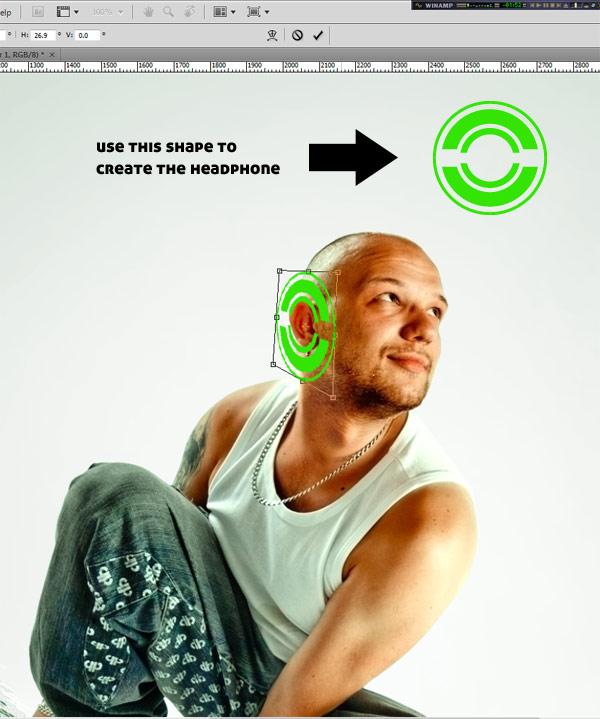 089 在Photoshop中合成超酷的时尚音乐海报