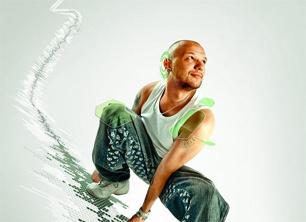 091 在Photoshop中合成超酷的时尚音乐海报