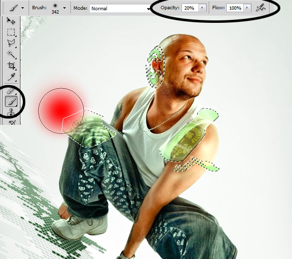 093 在Photoshop中合成超酷的时尚音乐海报