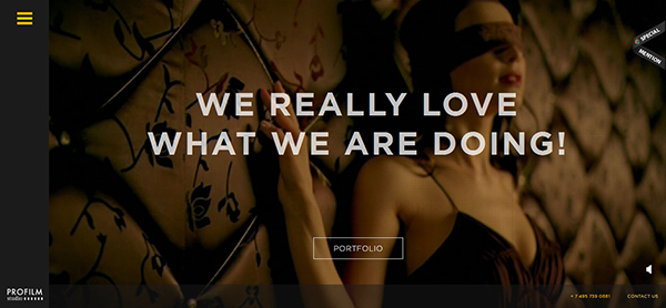 帅到没朋友!25个灵感纷呈的HTML5网站欣赏