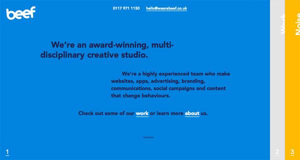 眼前一亮!30个亮色调的顶尖网站设计