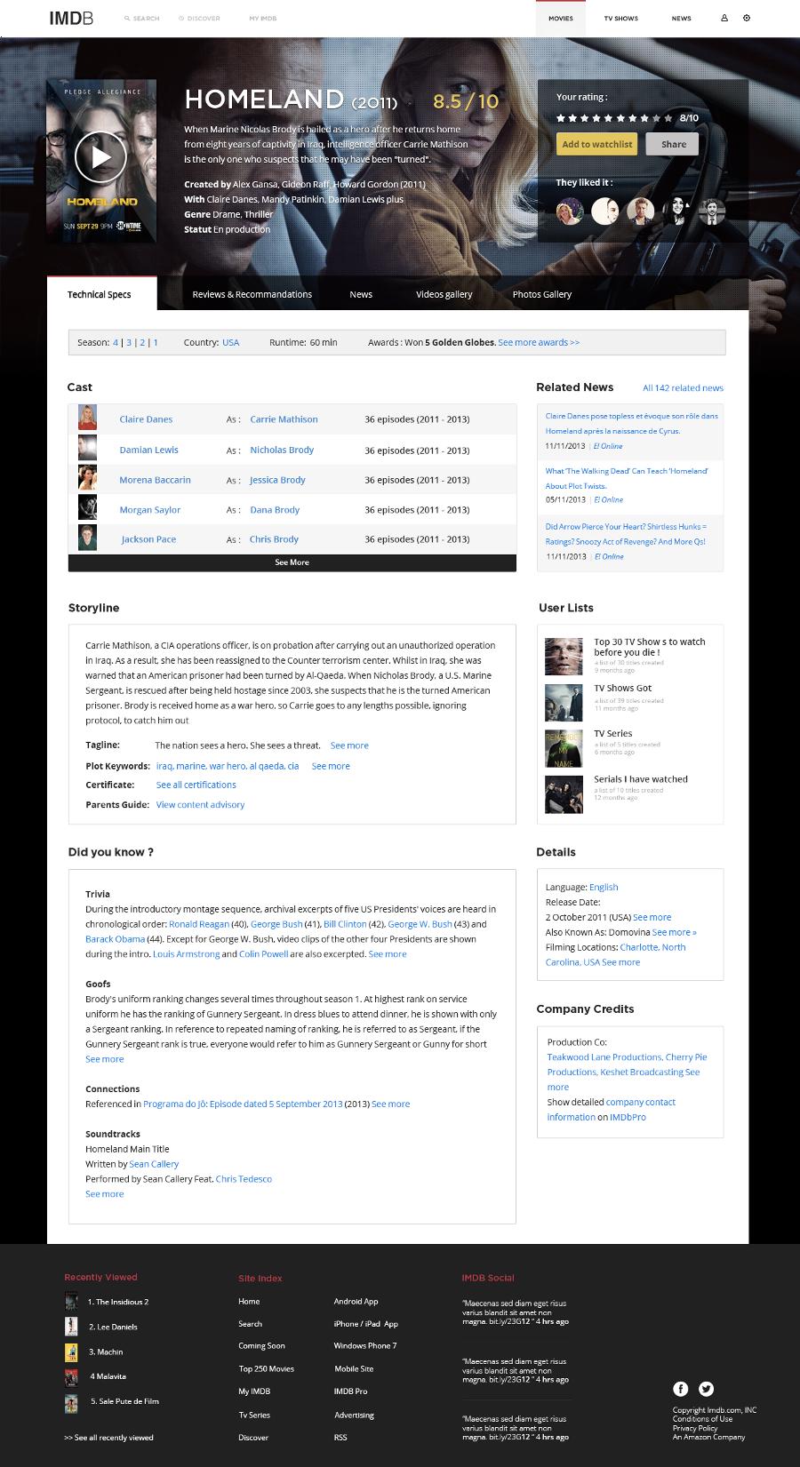 改版经验分享!重新设计地球上最流行的电影网IMDb