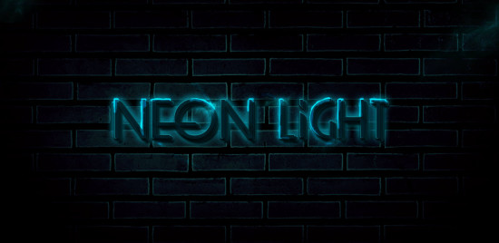 4 effect 550x268 Create Unique Neon Text Effect in Photoshop