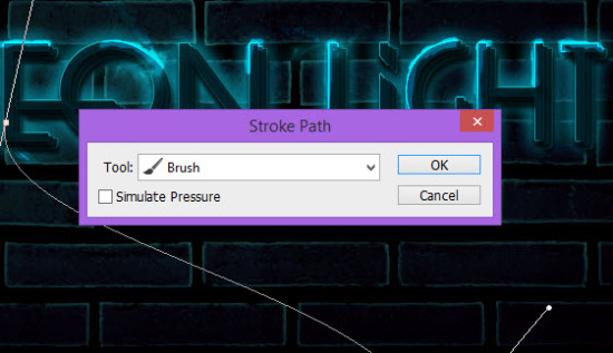 5 sroke 550x317 Create Unique Neon Text Effect in Photoshop