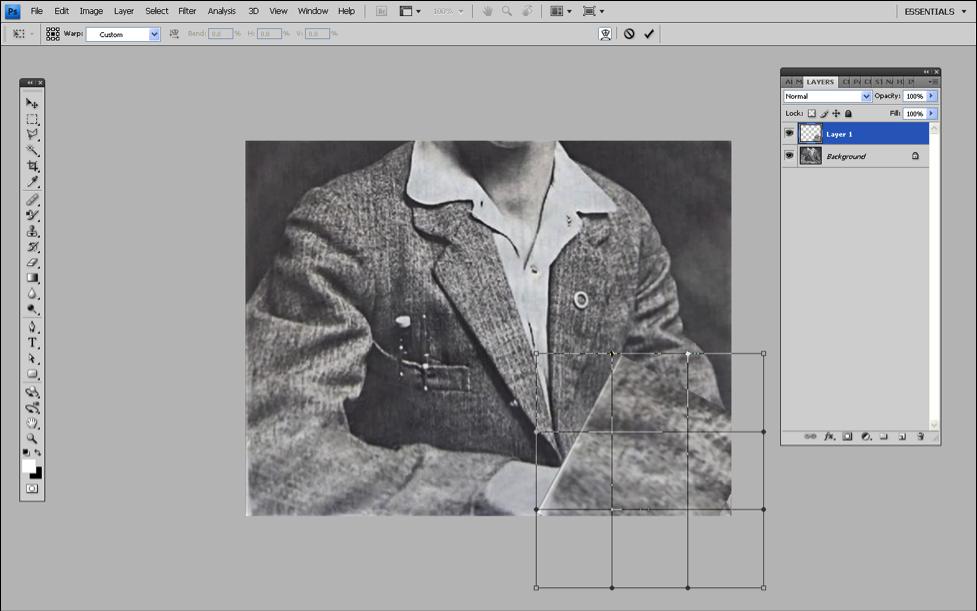 修图教程!如何用PS修整和恢复老照片
