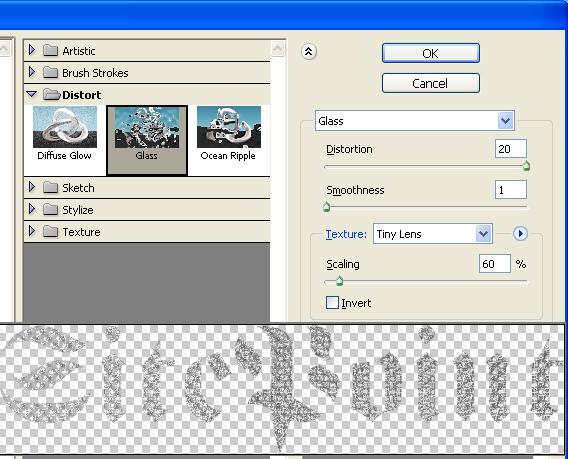 PS教程:简单几步创建典雅的钻饰文字效果