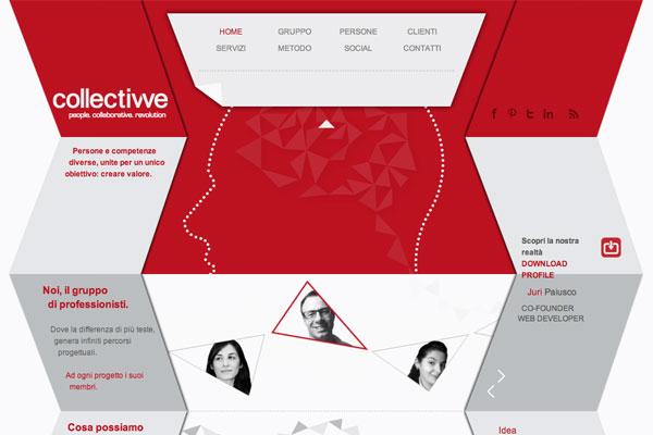 超赞!一组排版超酷的网页设计