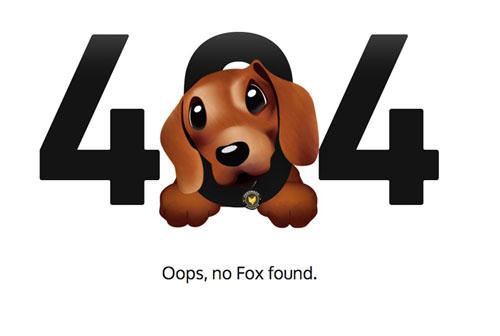 想要不闹心的404界面?这组优秀范例能帮到你