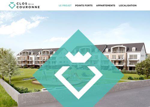 Clos de la Couronne 网页设计欣赏
