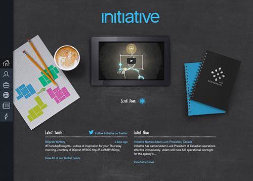 Initiative Website 网页设计欣赏