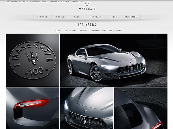 超炫豪车展!25个大气豪迈的汽车网站欣赏