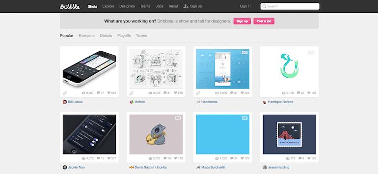木有设计灵感怎么办?这9枚网站帮到你!