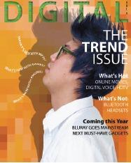 PS新手教程:教你设计时尚简洁的杂志封面
