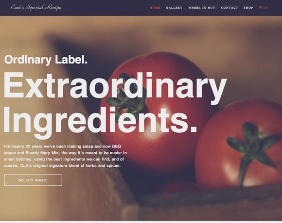 舌尖上的网页设计!10个超美味的餐饮类网站